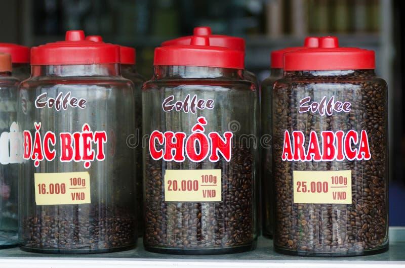 Soorten koffie, Vietnam stock fotografie