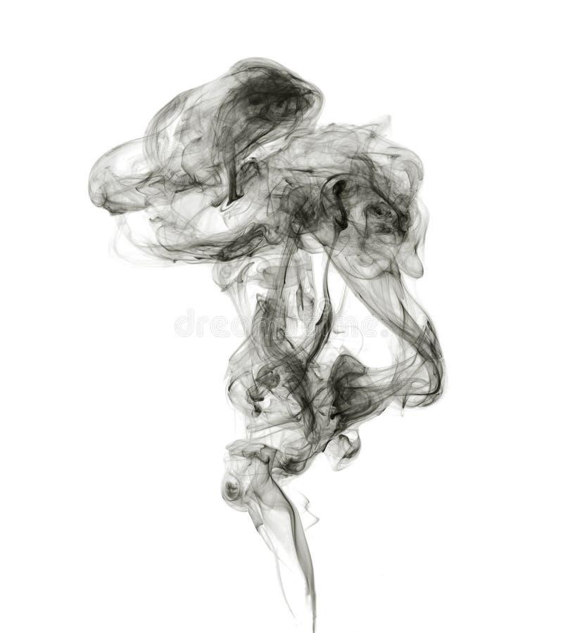 Soot. Black smoke. royalty free stock photos