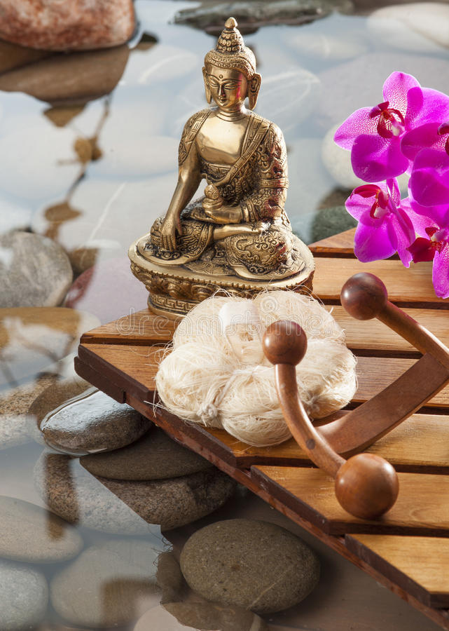 Download Soothing Buddha Inner Beauty Symbol Stock Image