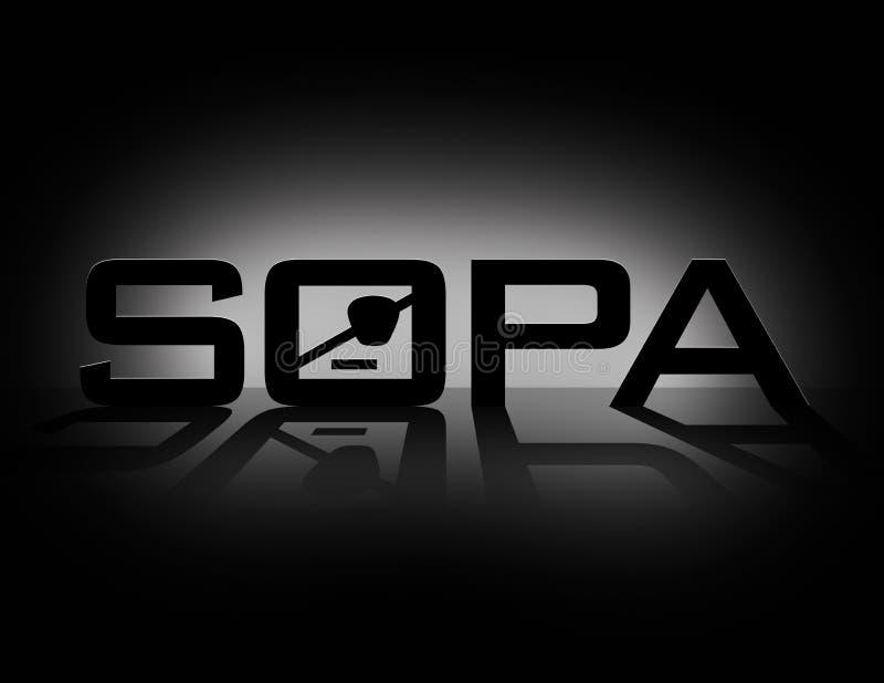 SOPA (Akte van de Piraterij van het Einde het Online)