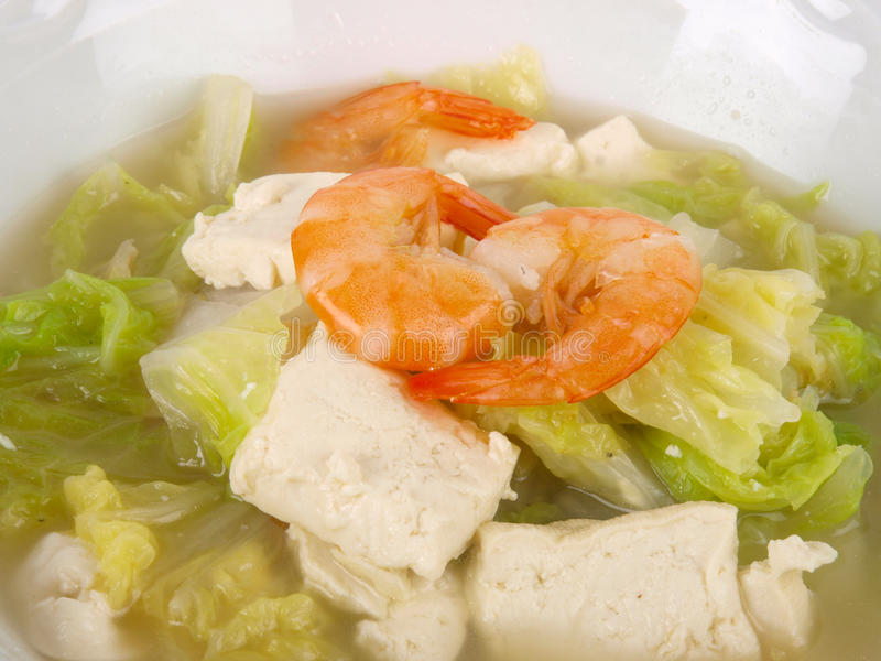 Download Sopa Chinesa Do Tofu Do Estoque De Galinha Foto de Stock - Imagem de lunch, gourmet: 12812714