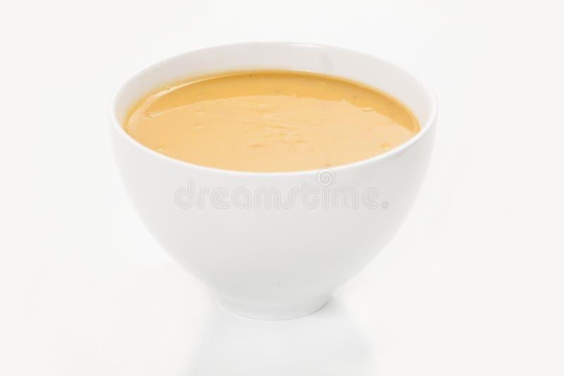Sopa da nata foto de stock