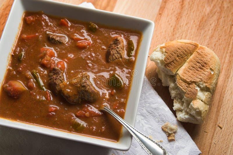 Sopa de cocido húngaro foto de archivo libre de regalías