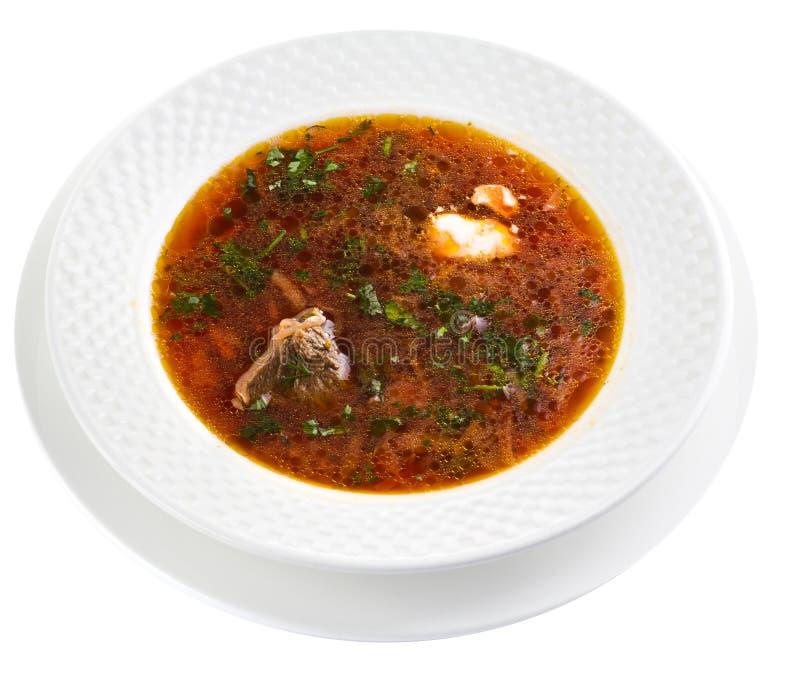 Sopa de cocido húngaro foto de archivo