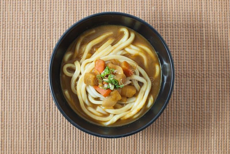 Sopa de fideos del Udon imagen de archivo libre de regalías