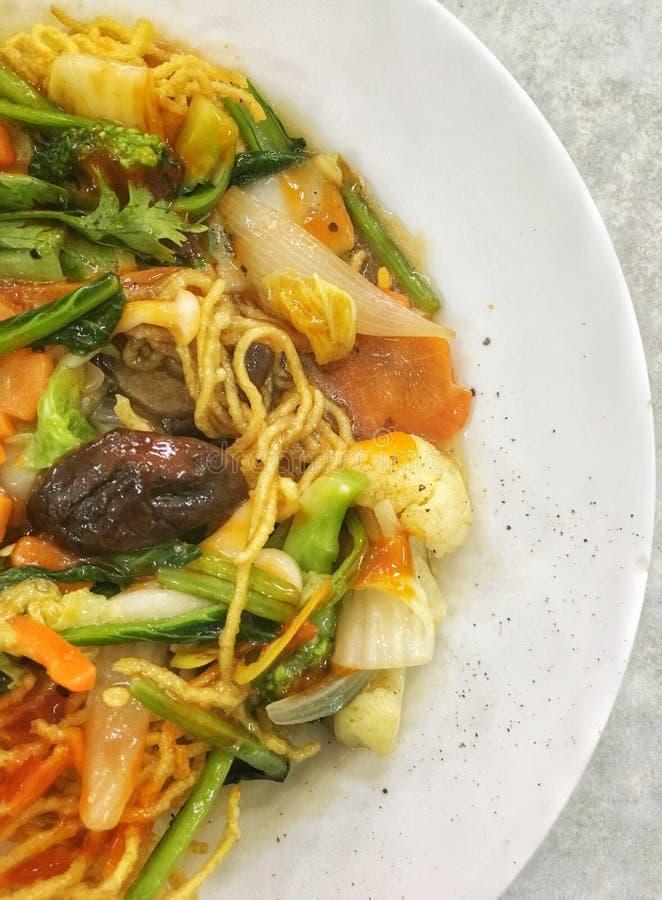 Sopa de fideos de los pescados de Chau doc. imagen de archivo libre de regalías