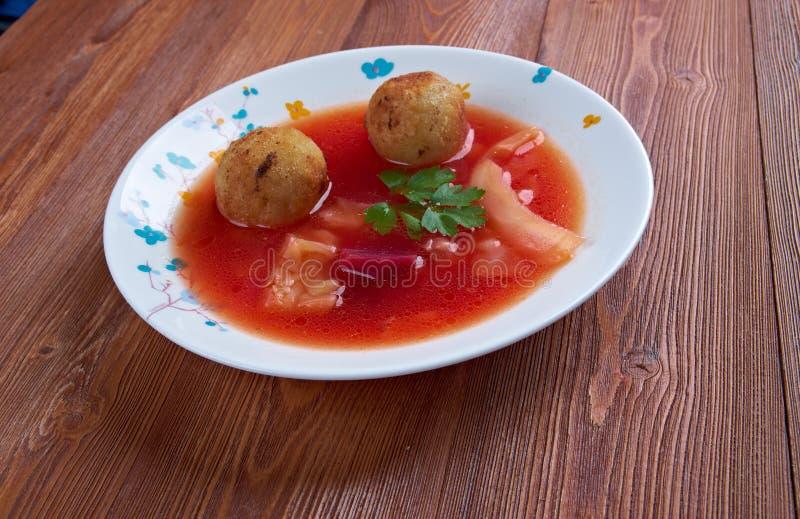 Sopa de Kubbeh imagen de archivo libre de regalías
