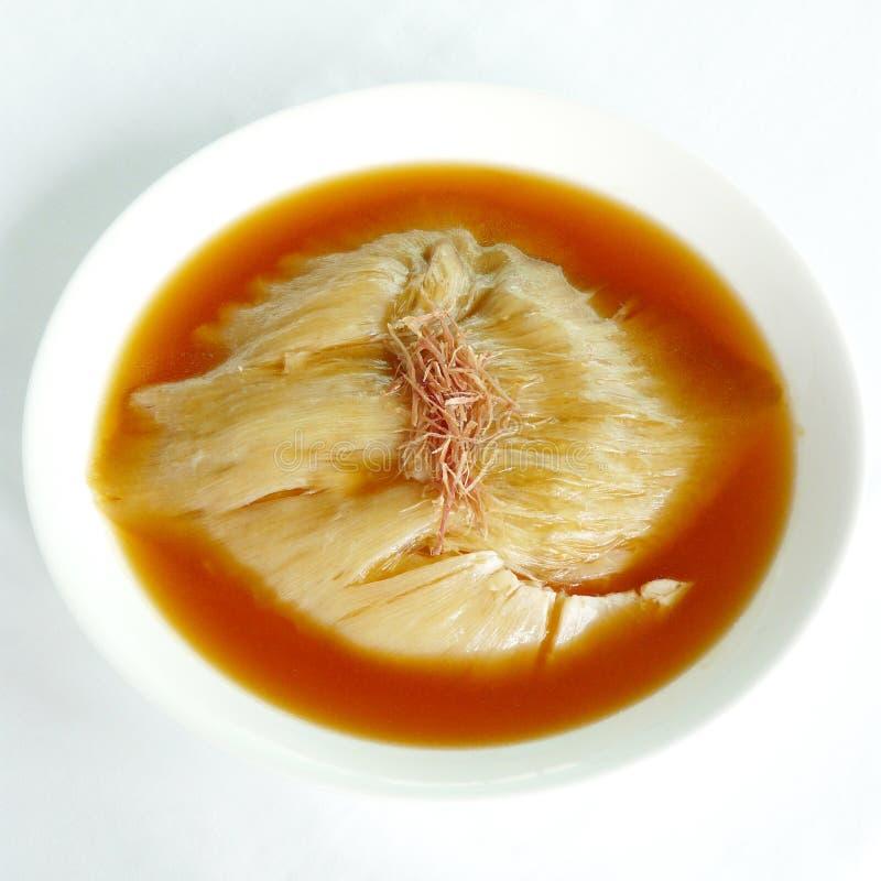 Sopa de la aleta del tiburón foto de archivo libre de regalías