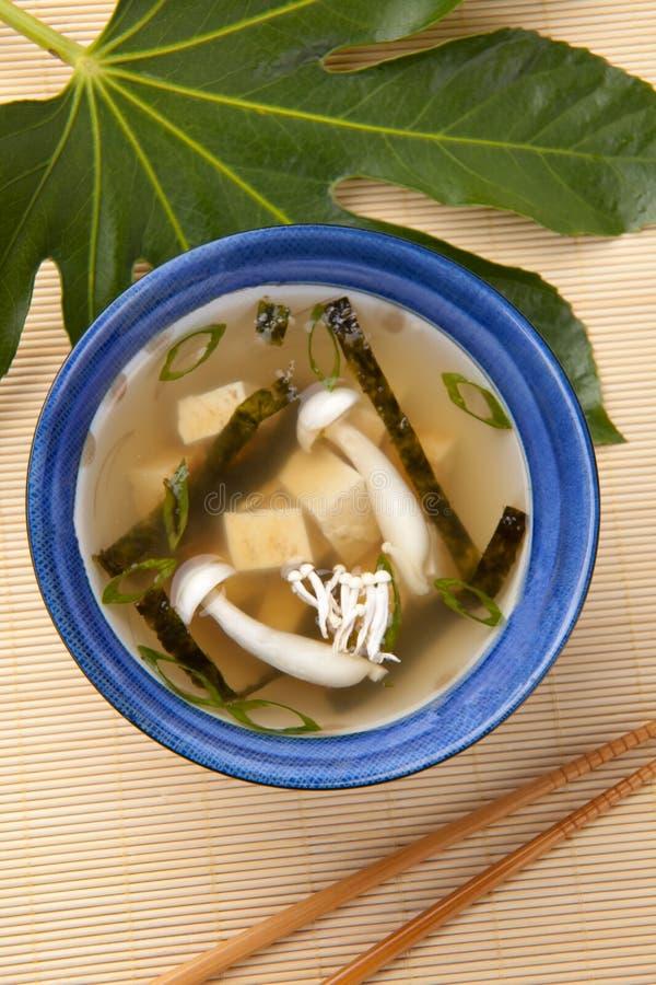 Sopa de Miso foto de stock