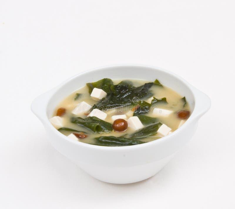 Sopa de Miso foto de stock royalty free