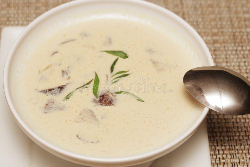 Download Sopa De Miso En El Plato Blanco Imagen de archivo - Imagen de cena, coma: 42426317