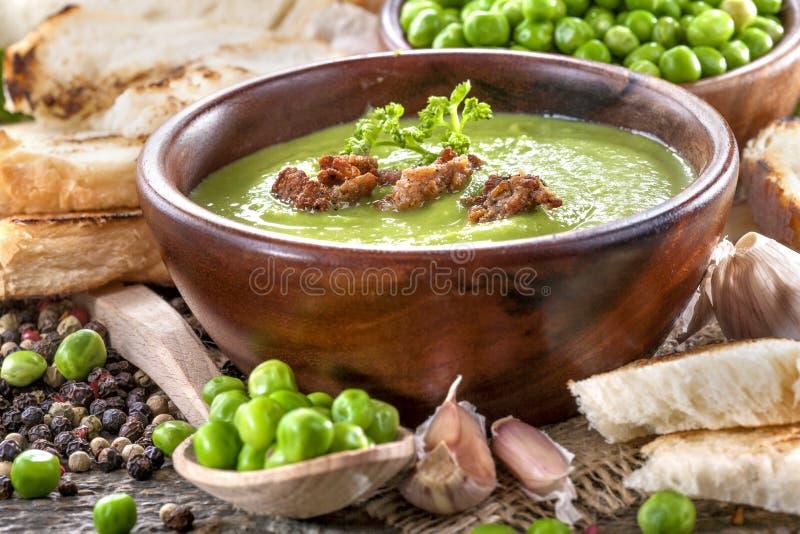 Sopa de Potage foto de archivo