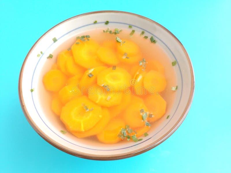 Download Sopa de zanahorias foto de archivo. Imagen de arrancador - 42426828