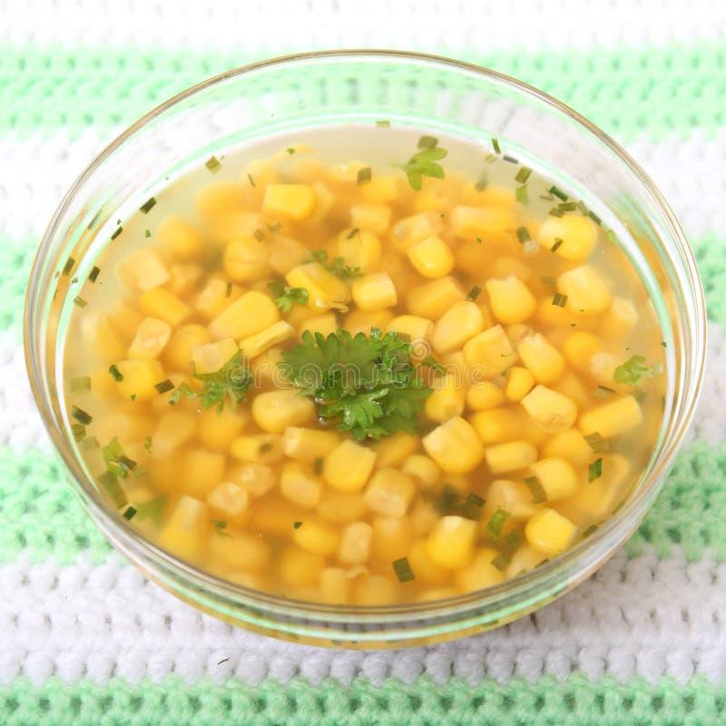 Sopa del maíz fotos de archivo libres de regalías