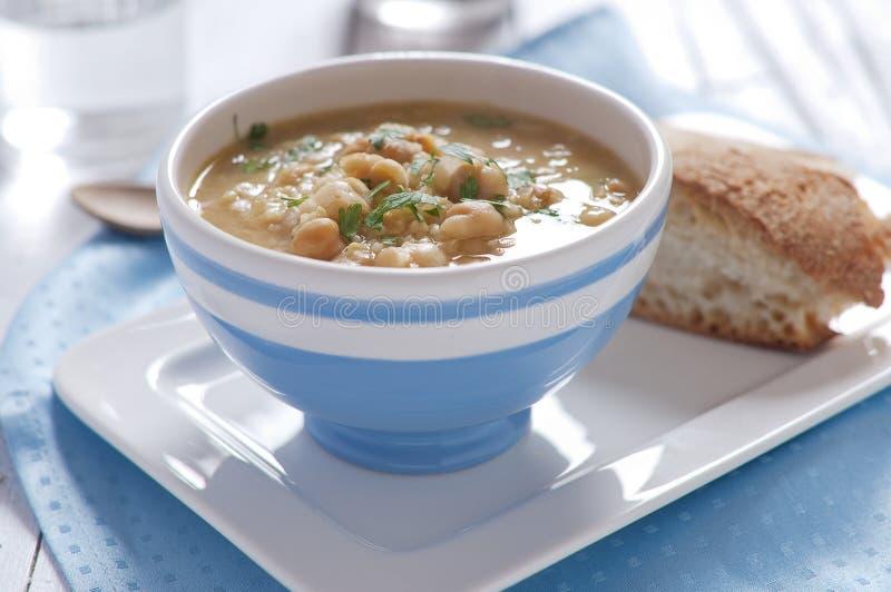 Sopa do grão-de-bico fotos de stock