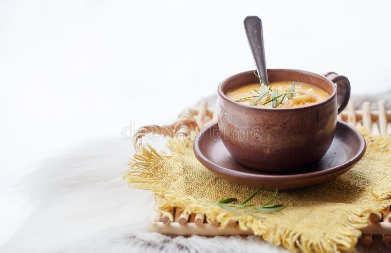 Sopa do inverno imagem de stock royalty free