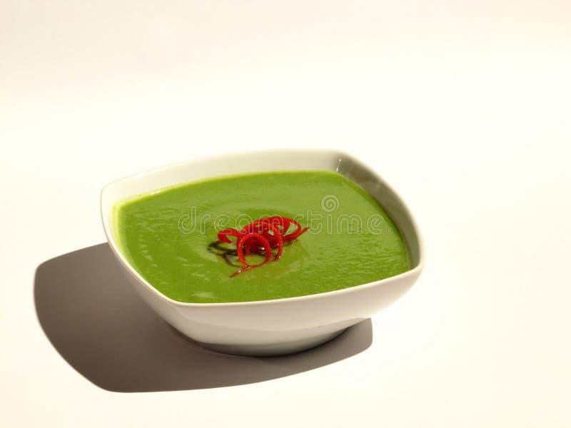 Sopa dos bróculos imagens de stock royalty free