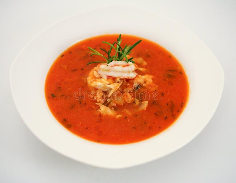 Sopa dos peixes imagem de stock royalty free