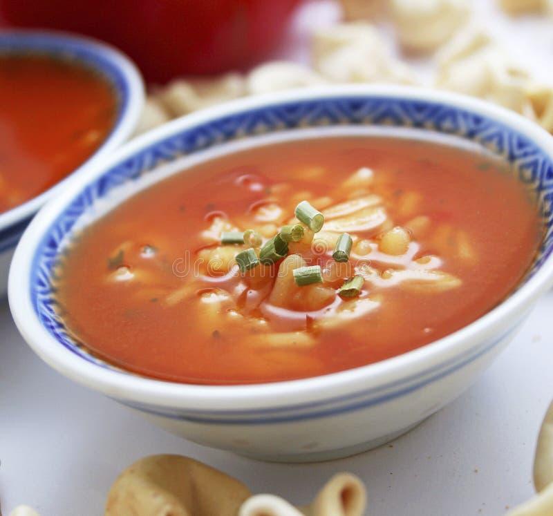 Sopa dos tomates fotos de stock royalty free