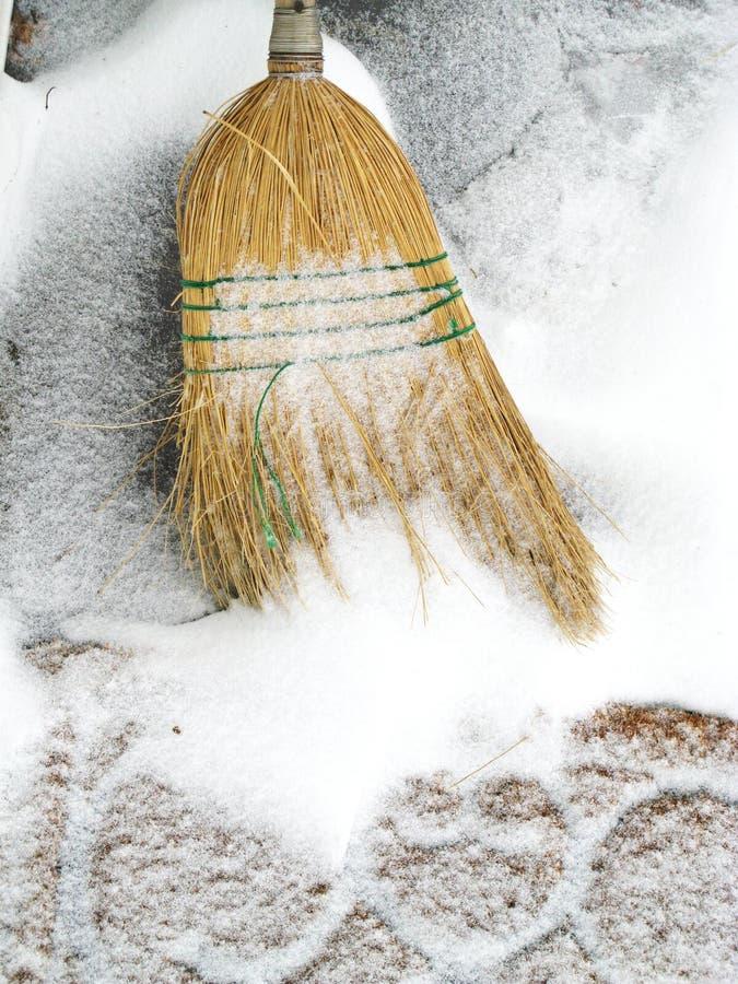 sopa för snow royaltyfri foto