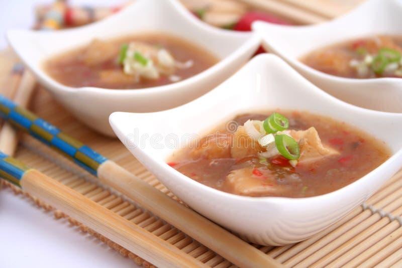 Sopa fresca imagens de stock