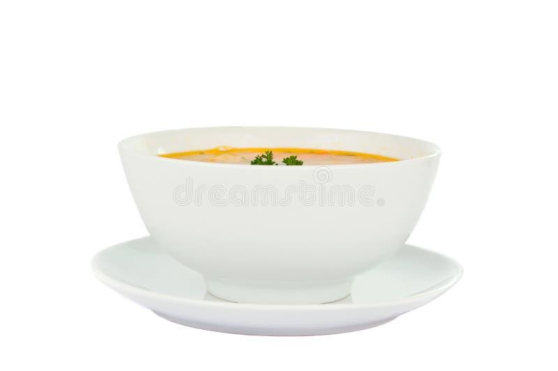 Sopa isolada foto de stock