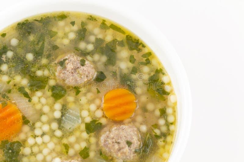 Sopa italiana do casamento foto de stock