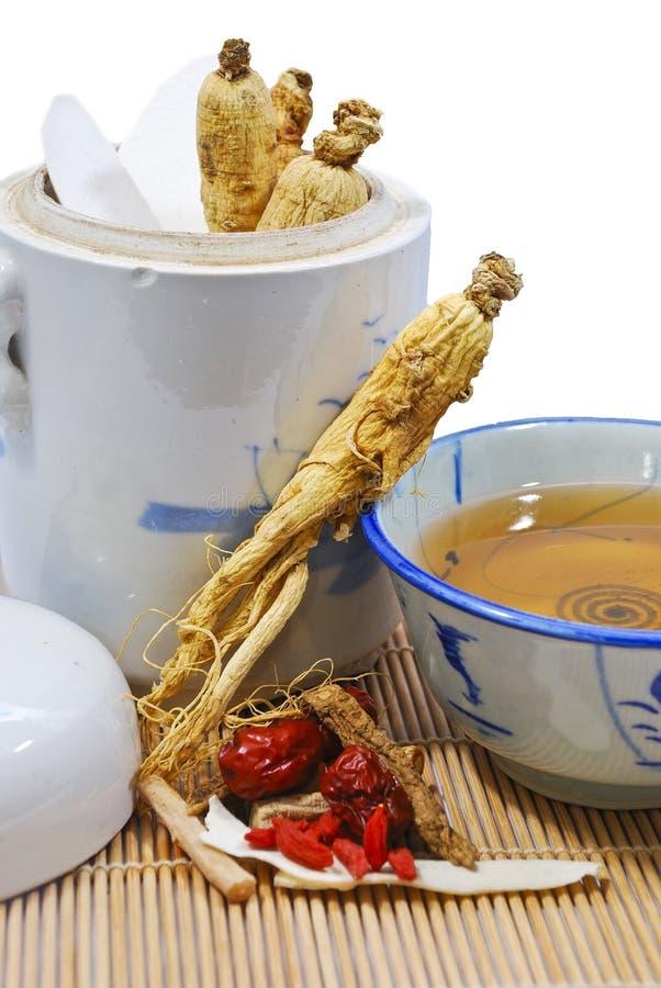 Sopa tradicional 02 del Ginseng fotos de archivo libres de regalías