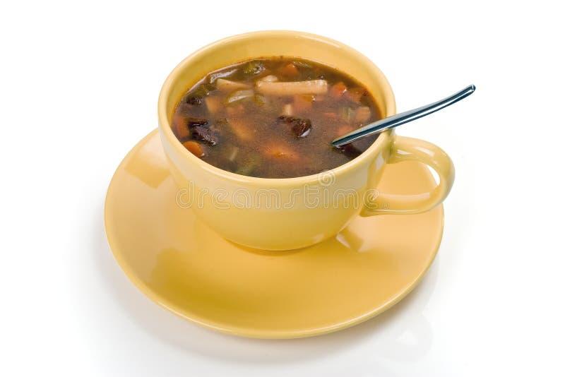 Sopa vegetal foto de archivo
