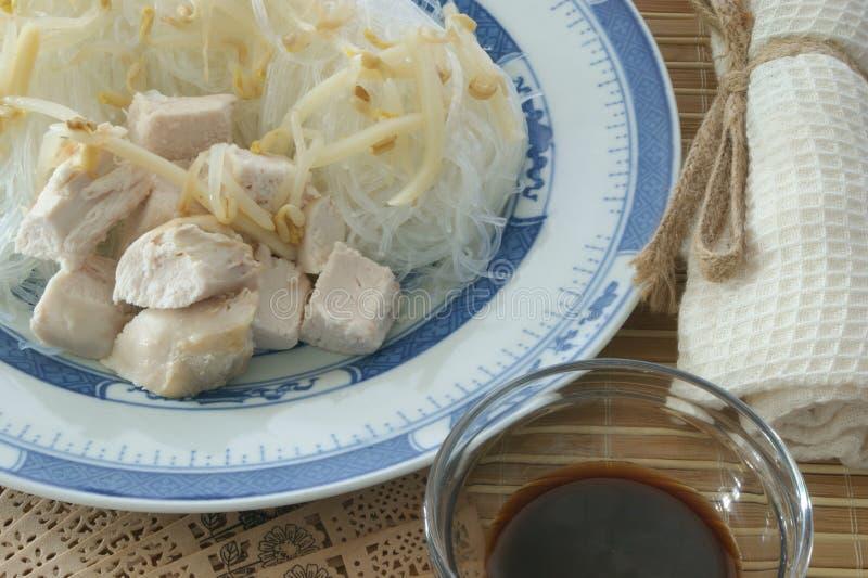 Sopa vegetal asiática imágenes de archivo libres de regalías