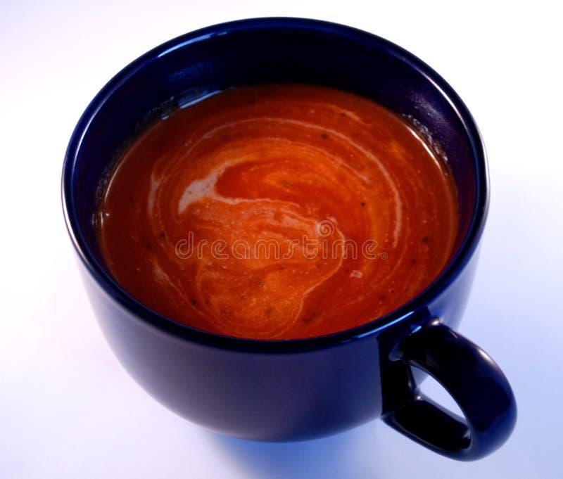 Download Sopa y crema del tomate imagen de archivo. Imagen de tomate - 7280257