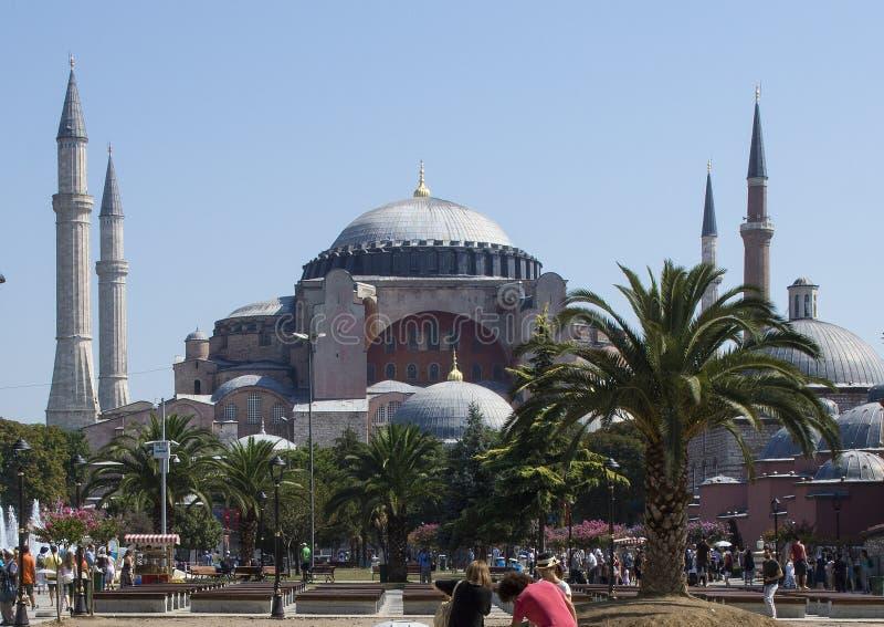 sophia της Κωνσταντινούπολης hagia στοκ φωτογραφίες