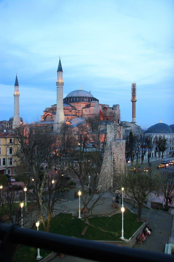 sophia Τουρκία της Κωνσταντινούπολης hagia στοκ φωτογραφίες