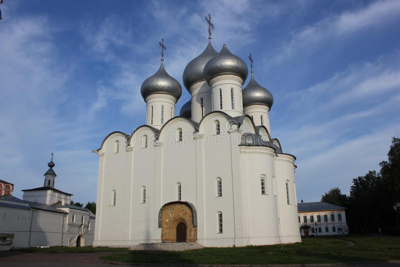 Sophia Cathedral. City of Vologda, Russian Federation royalty free stock photos