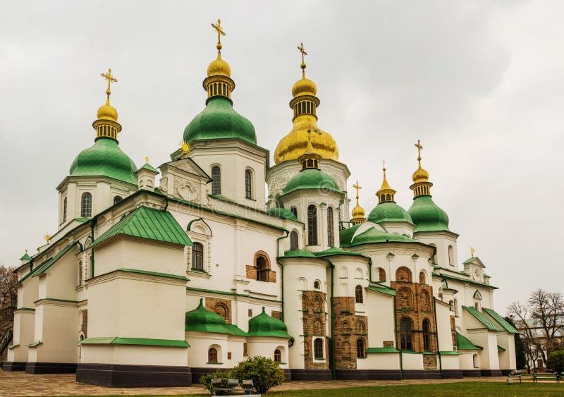 sophia för domkyrkakiev saint ukraine royaltyfri bild