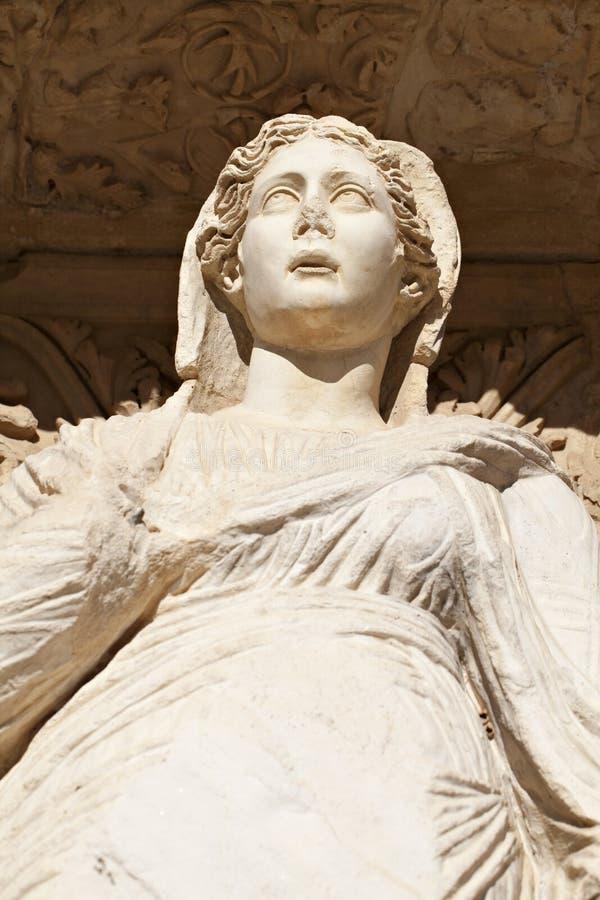 Sophia Göttin der Klugheit-alten Statue stockfoto