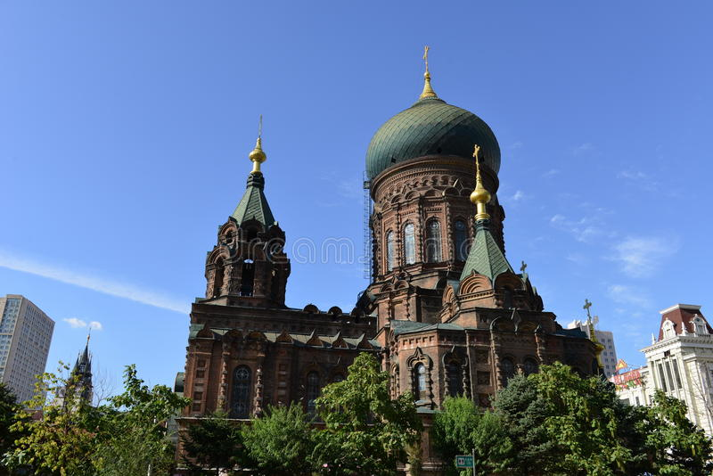 sophia hagia εκκλησιών στοκ εικόνες