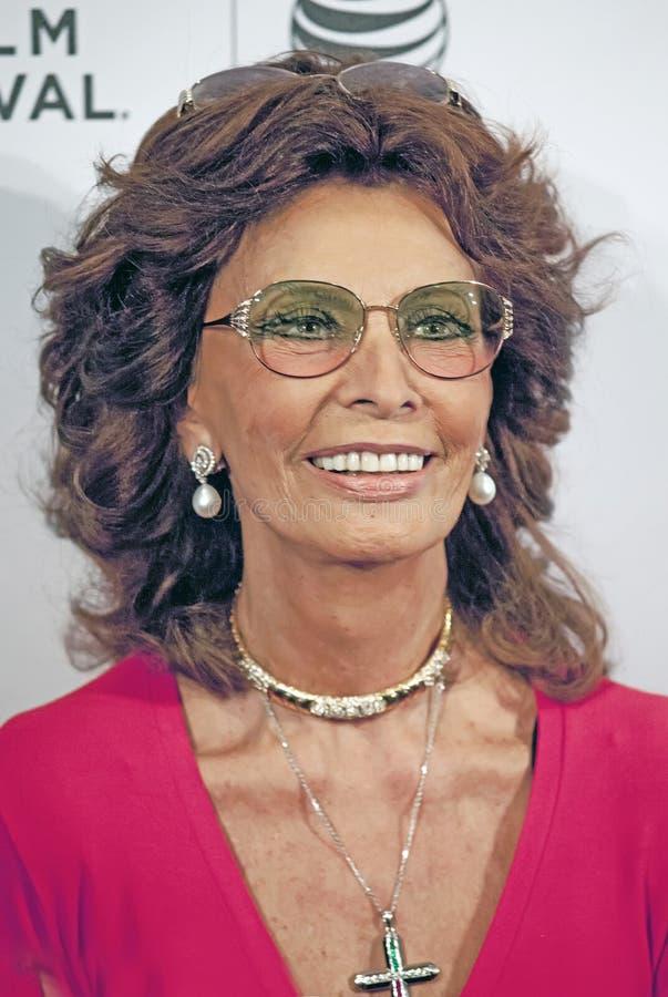 Sophia Loren stock foto