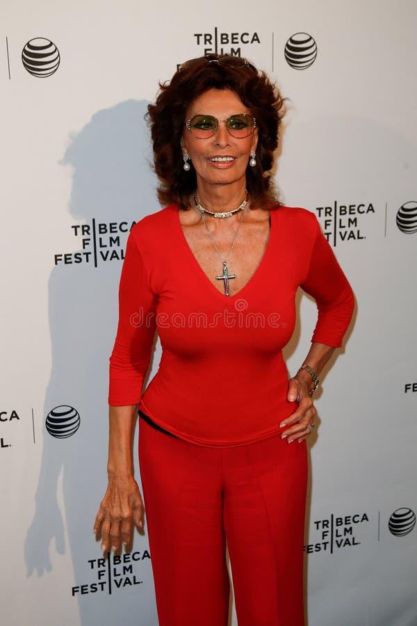 Sophia Loren fotografía de archivo