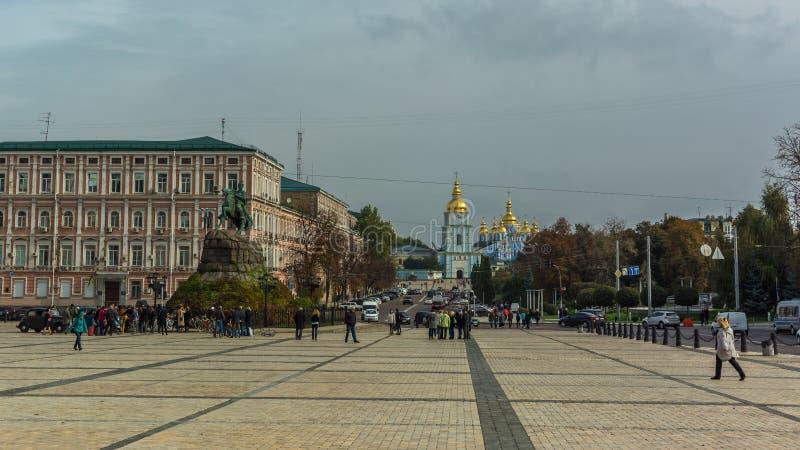 Sophia Square es una el más hermoso, histórico y de well-kn fotografía de archivo libre de regalías