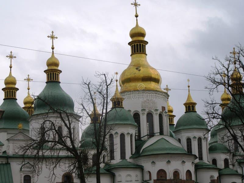 sophia Ukraine de saint de Kiev de ville de centre de cathédrale photo stock