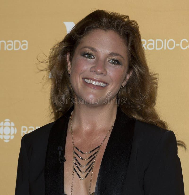 Sophie Grégoire Trudeau royalty-vrije stock foto's