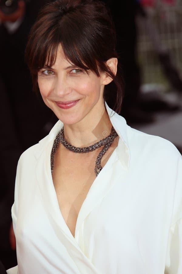 Sophie Marceau immagine stock