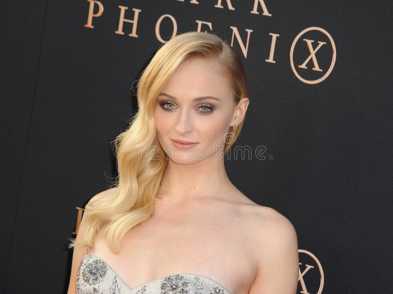 Sophie Turner photo stock