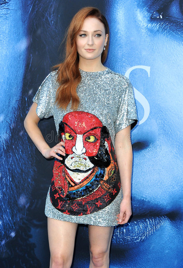 Sophie Turner photo libre de droits