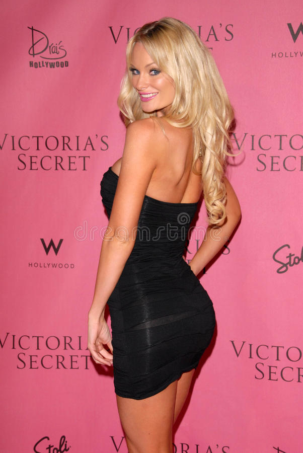 Sophie Turner,Victoria's Secret. Sophie Turner at the Victoria's Secret Supermodels Celebrate the Reveal of the 2010 What is Sexy? List: Bombshell Edition, Drai' royalty free stock image