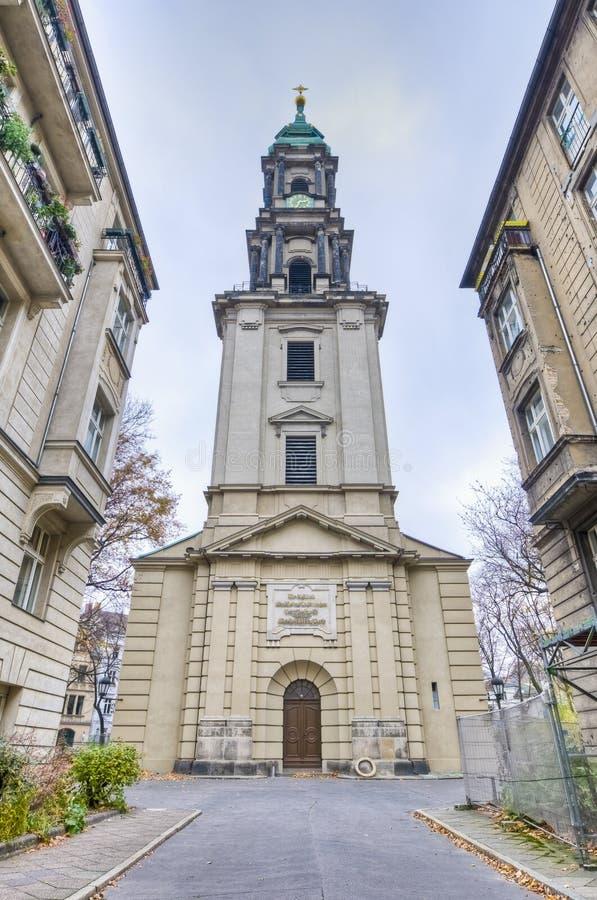 Sophienkirche på Berlin, Tyskland royaltyfri bild