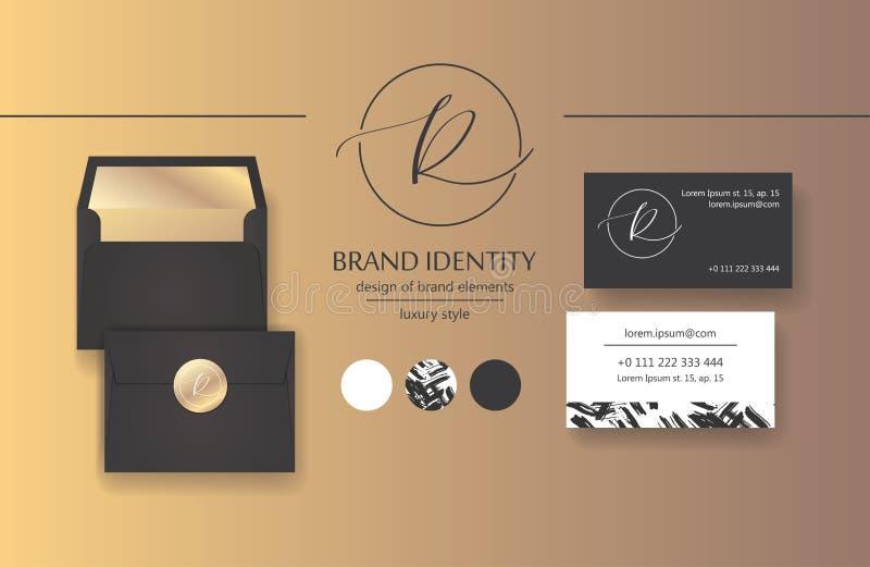 Sophisticated brand identity letter r line logo business card download sophisticated brand identity letter r line logo business card template included stock colourmoves