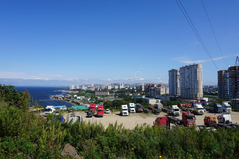 Download Sopka Vladivostok. Primorye. Russia. Editorial Stock Photo - Image of russia, hills: 83721133