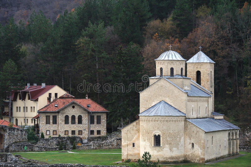 sopocani Сербии скита стоковое изображение rf